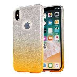 Tampa Traseira Bling Huawei P8 Lite 2017 P9 Lite 2017 Gold - 5900217227458