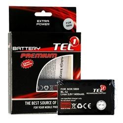 Bateria Nokia BL-5J 5800 1400mAh Li-ion Compativel - 5900217040927