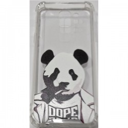 Tampa Huawei P Smart C Desenho Panda Transparente - 6714