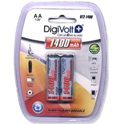 Digivolt Pilhas Ni-Mh AA Recarregavel BT2-1400mAh Pack 2Un - 8502916513695