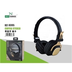 Auscultador Bluetooth New C / Micro Prata SH25 Stereo - 7845611120395