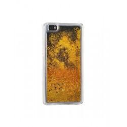 Tampa Traseira Gold Huawei P8 Lite Agua C Estrelas - 5900217198543